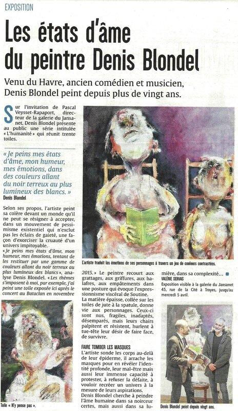 ARTICLE BLONDEL EST ECLAIR