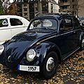 Volkswagen coccinelle - 1957