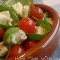 Mini tomate-mozza pour l'apéro - 2pts/pers (0,33pt/pièce)