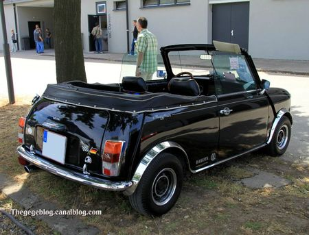 Austin mini MK2 mayfair cabriolet de 1979 (RegioMotoClassica 2011) 05