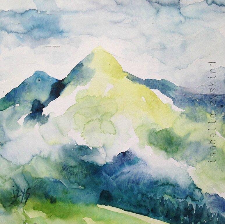 Le mont Jaune w20x20 0115
