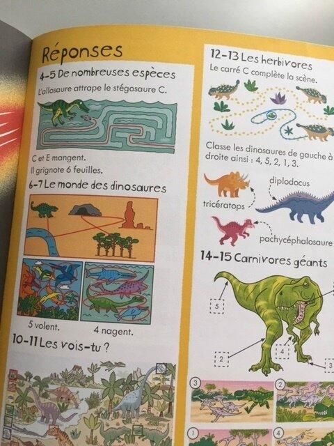 les dinosaures activités 5