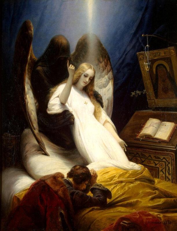 1851 - Ange de la mort