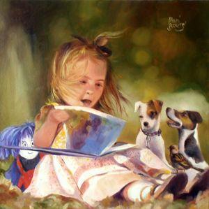 La lecture aux amis