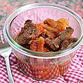 Coeur de boeuf carottes-tomates {recette}