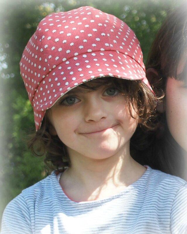 Chapeau casquette Anna