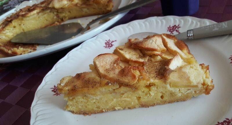gâteau gourmand pommes-amandes (3)