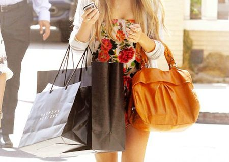 bag-dress-girl-shopping-Favim