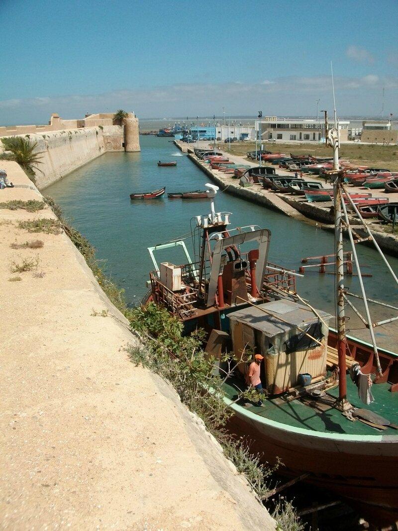 Al Jadida, vue des remparts