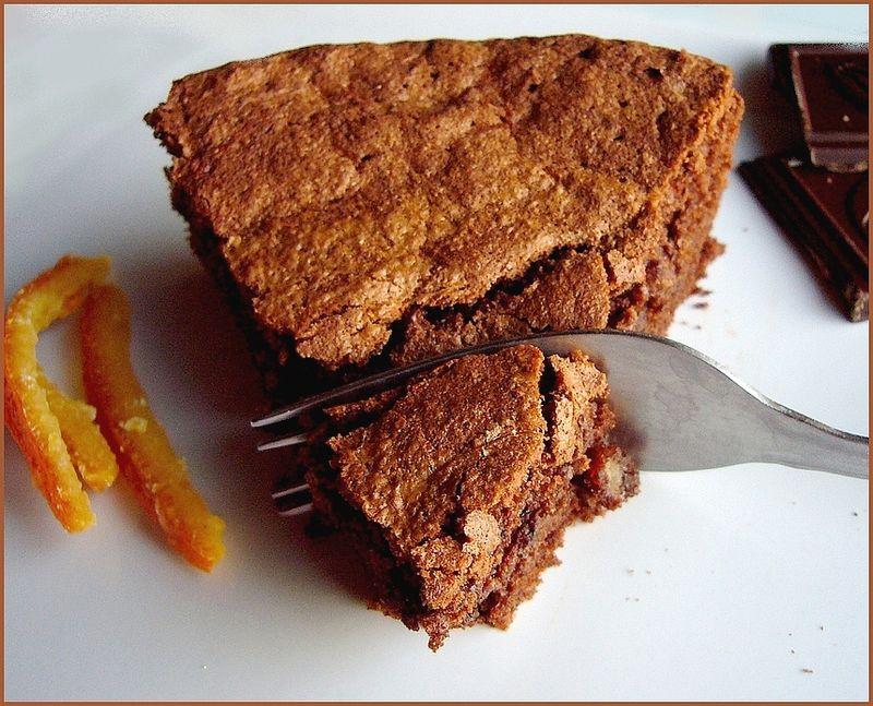 Recette gateau aux oranges et chocolat