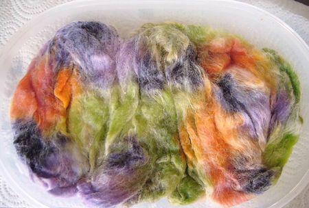 teinture alimentaire fibres pendant 003