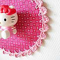 bordure crochete pour Kitty