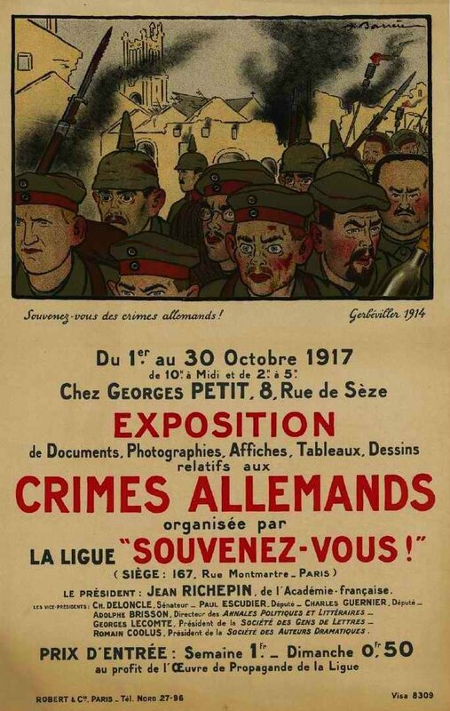 Crimes all souvenez-vous
