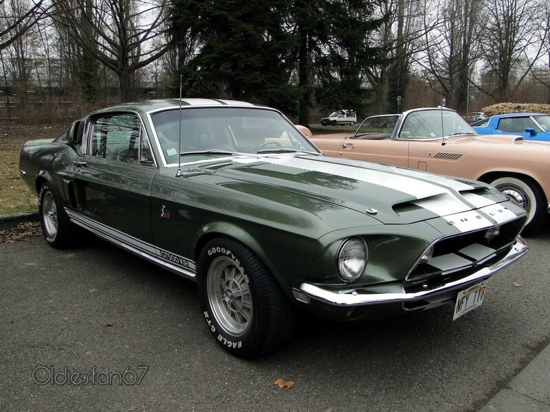 shelby gt500kr fastback coupe 1968 a
