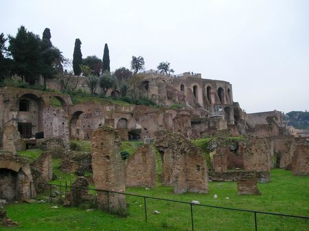 Ruines Mont Palentin Rome