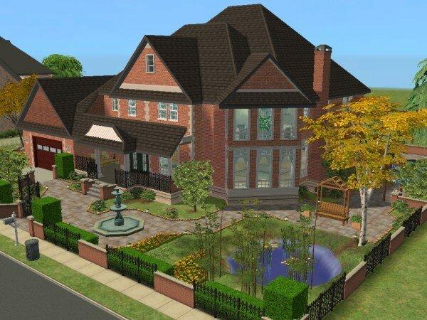 La Villa Familiale Maisons Deco Sims2