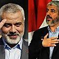 En s'attaquant à i. haniyeh, israël et les états-unis visent la résistance palestinienne