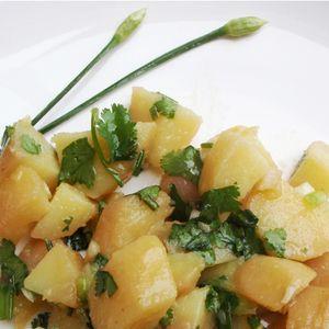 salade de pommes de terre aux herbes asiatiques