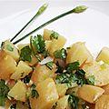 Salade de pommes de terre aux herbes thaï