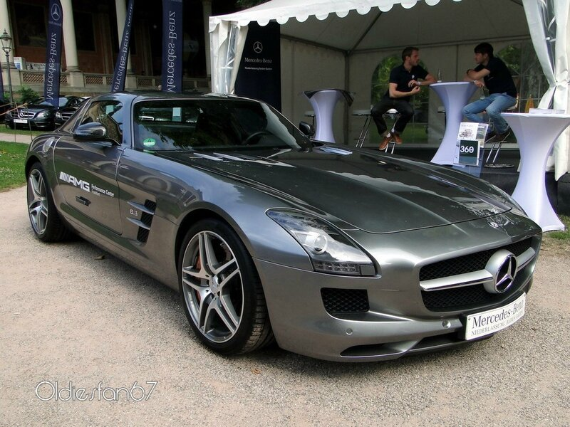 mercedes benz sls amg 6,3 coupe 2011 a