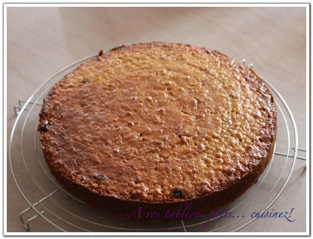 Gateau aux flocons d'avoine thermomix