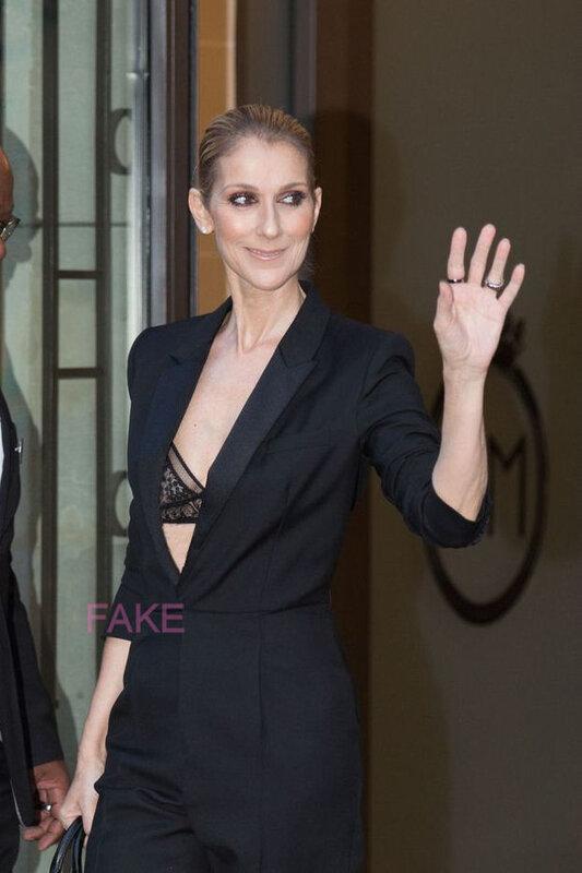 Céline Dion, sexy