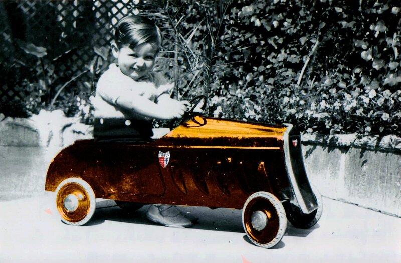 Yves Guérin - 28 mois dans sa 1er auto