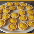 Mini tartelettes au citron en deux versions