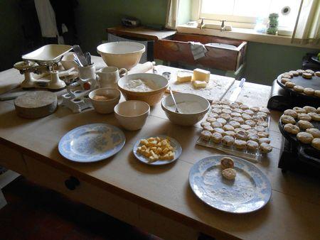 Préparation de Welsh cakes
