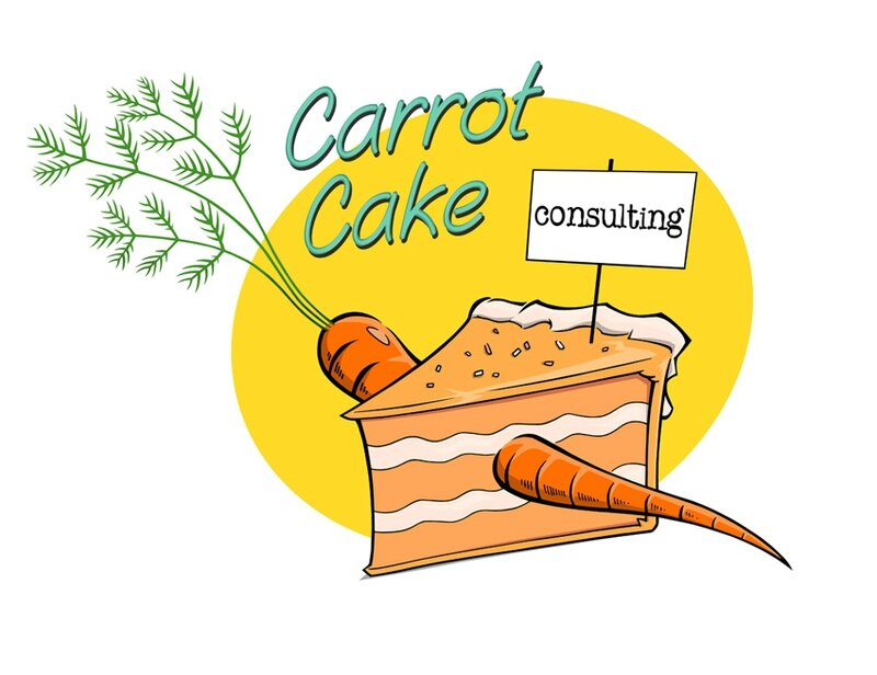logo carrot cake consulting couleur bostal