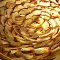 Tarte fine aux pommes et oranges