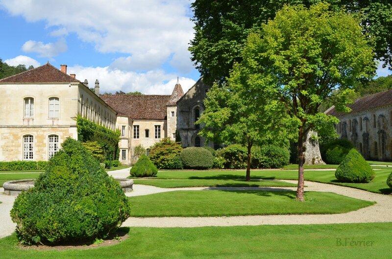 21500 Marmagne - Abbaye de Fontenay