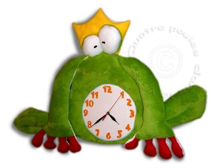 horloge-grenouille-couronne