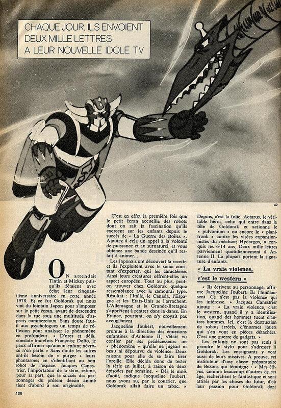 Canalblog Revue Télé 7 Jours 972 Goldorak 19790113 01