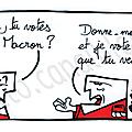 Valls ou macron.