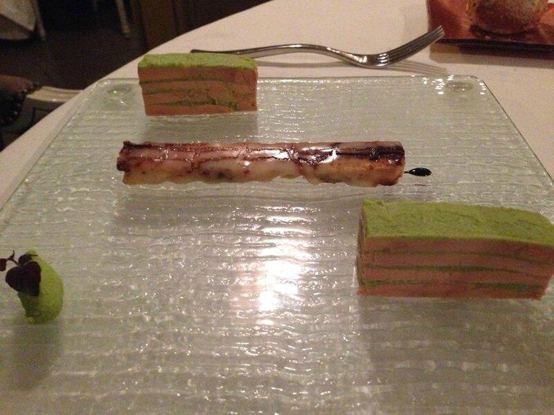 entree au foie gras