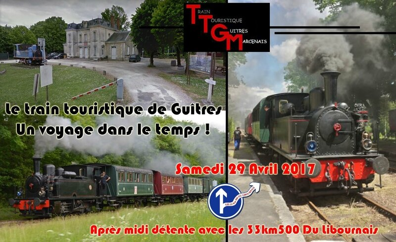 Affiche Petit train de Guitres
