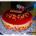 LAMARENA ( entremets cerises / mascarpone )