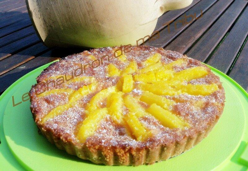 Tarte coco ananas 1