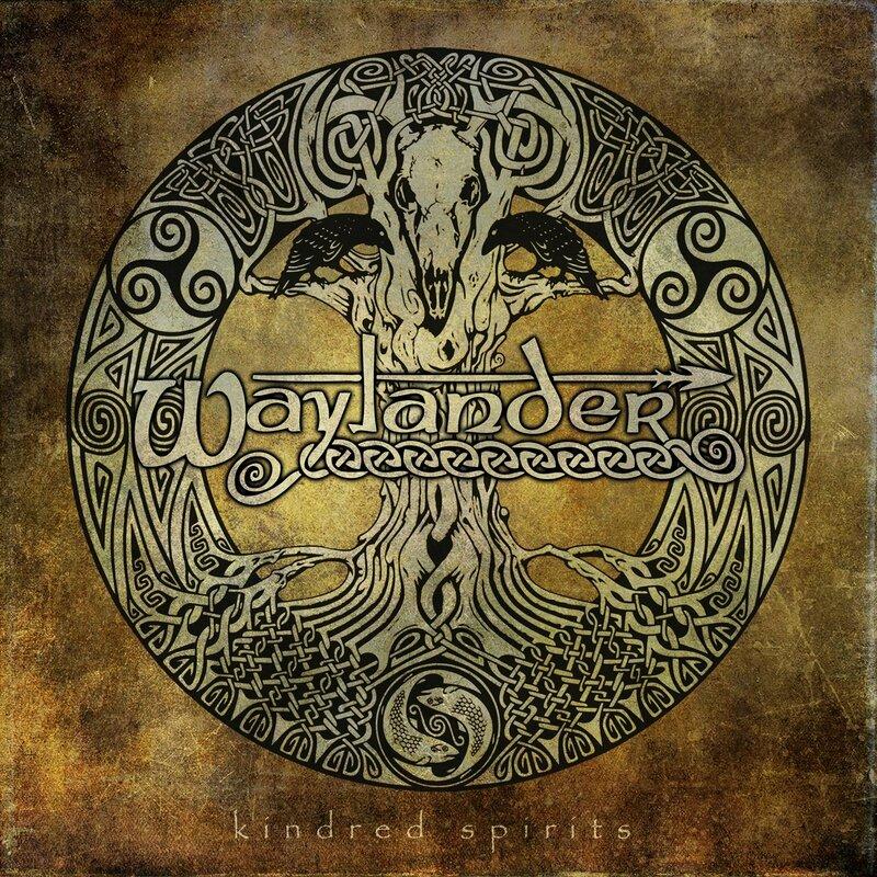 Waylander - 2012 - Kindred Spirits 1 Front
