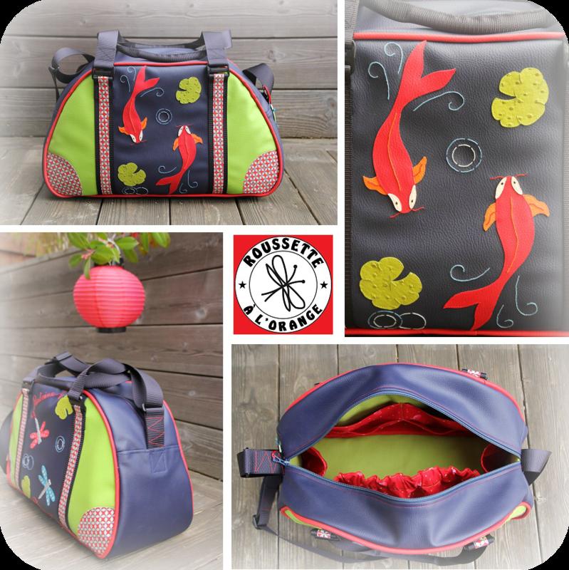 sac bowling Antoine x4