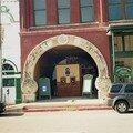 La porte de l'Opera House de Galveston