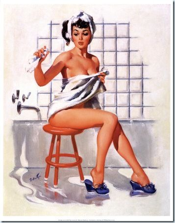 PIN UP BEAUTE SDB