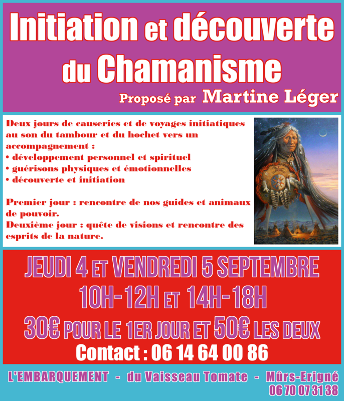 Martine Léger (Initiation chamanisme)