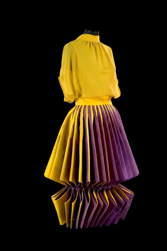 Roberto Capucci, Sculpture Dress, silk taffeta and silk georgette, 1980