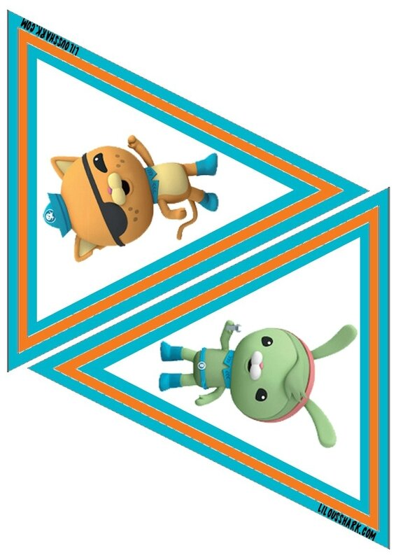 printable fanion octonauts 3