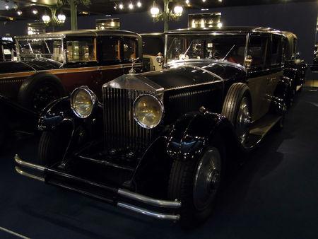 ROLLS ROYCE Limousine Phantom II 1930 Musée National de l'Automobile de Mulhouse, collection Schlumpf 2