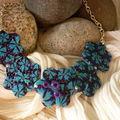Un collier pour fêter le printemps ...