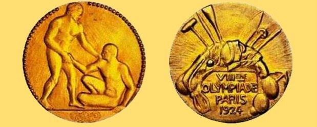 Médaille Paris 1924 R