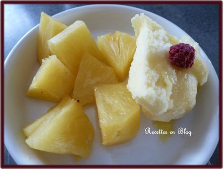 chaud froid d'ananas1